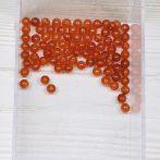 Karneol ásványgyöngy - 4,5mm-es golyó - 1db