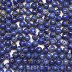 Lápisz lazuli ásványgyöngy - 5mm-es golyó - 1db