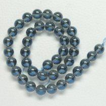 Aura kvarc (kék) ásványgyöngy - 6mm-es golyó - 1db