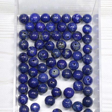Lápisz lazuli ásványgyöngy - 7mm-es golyó - 1db