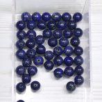 Lápisz lazuli ásványgyöngy - 7,5mm-es golyó - 1db