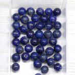 Lápisz lazuli ásványgyöngy - 9mm-es golyó - 1db