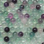 Fluorit ásványgyöngy - 10mm-es golyó - 1db