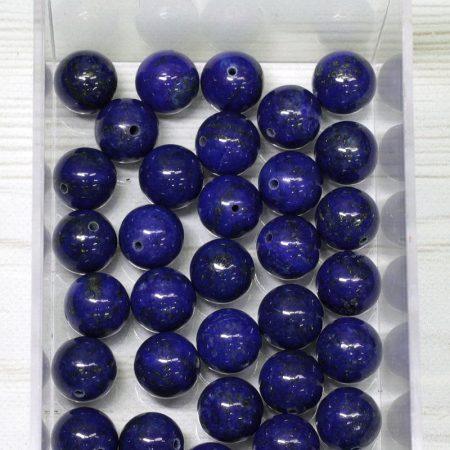 Lápisz lazuli (A minőség) ásványgyöngy - 10mm-es golyó - 1db