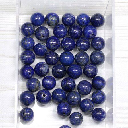 Lápisz lazuli ásványgyöngy - 10mm-es golyó - 1db