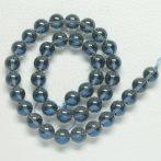 Aura kvarc (kék) ásványgyöngy - 14mm-es golyó - 1db