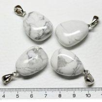 Howlit ásványmedál - 2-3cm-es formátlan csepp