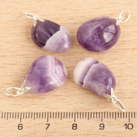 Ametiszt ásványmedál - 1,5-2cm-es