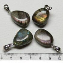 Labradorit ásványmedál - 2-3cm-es formátlan csepp