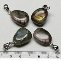Labradorit ásványmedál - 2-2,5cm-es formátlan csepp