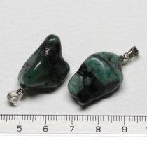 Smaragd ásványmedál - 2-2,5cm-es formátlan