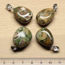 Riolit ásványmedál - 2-2,5cm-es formátlan csepp