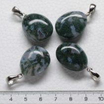 Mohaachát ásványmedál - 2-2,5cm-es formátlan csepp