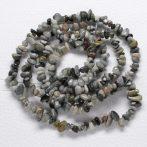 Sasszem - ásvány splitter / szemcse - gömbölyített szemű - kb. 85cm-es szál