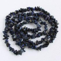 Dumortierit ásvány splitter / szemcse - kb. 85cm-es szál