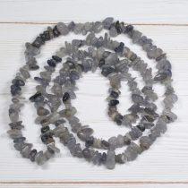 Iolit - féldrágakő splitter - kb. 85cm-es szál