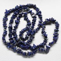 Lápisz lazuli féldrágakő splitter - kb. 85cm-es szál