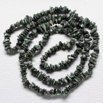 Szerafinit féldrágakő splitter - kb. 85cm-es szál