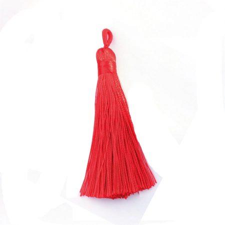 7,5cm-es bojt  - piros