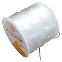 Crystal Tec gumidamil - egyszálas, 0,8mm-es színtelen - 45m