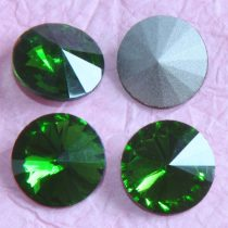 Távolkeleti kristály rivoli 8mm-es - világosabb fenyőzöld (Fern Green)