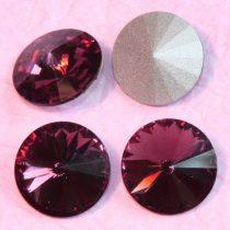 Távolkeleti kristály rivoli 10mm-es - ametisztlila (Amethyst)