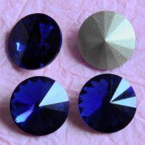 Távolkeleti kristály rivoli 10mm-es - kobaltkék (Cobalt)