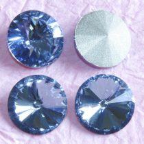 Távolkeleti kristály rivoli 12mm-es - égkék (Medium Sapphire)