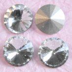 Távolkeleti kristály rivoli 12mm-es - kristály (Crystal)