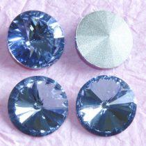 Távolkeleti kristály rivoli 14mm-es - égkék (Medium Sapphire)