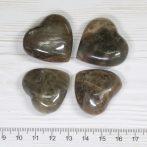 Holdkő szív marokkő - kb. 3cm-es /db