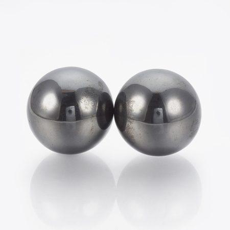 Mágneses hematit (préselt) golyó 2cm-es /pár