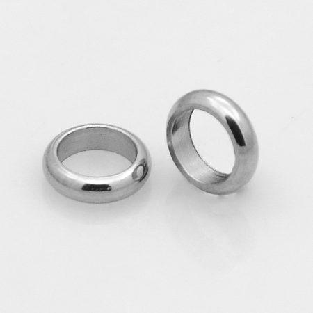 Nemesacél 6x2mm-es gyűrű köztes
