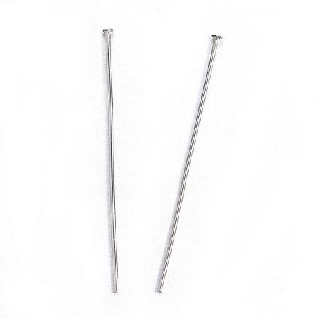 Nemesacél 5cm-es, 0,7mm vastagságú talpas szerelőpálca - 100db