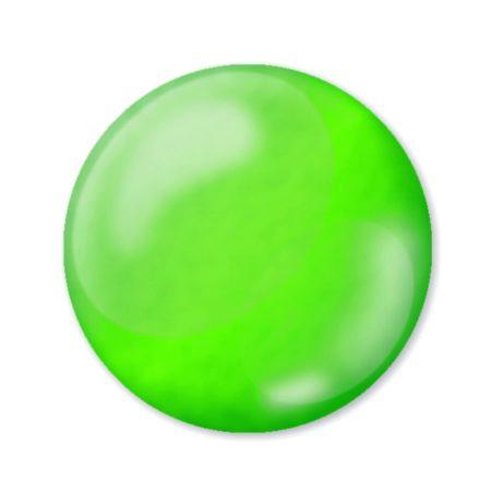 Pentart 3D Dekortoll - átlátszó fluoritzöld 30ml