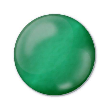 Pentart 3D Dekortoll - átlátszó smaragdzöld 30ml