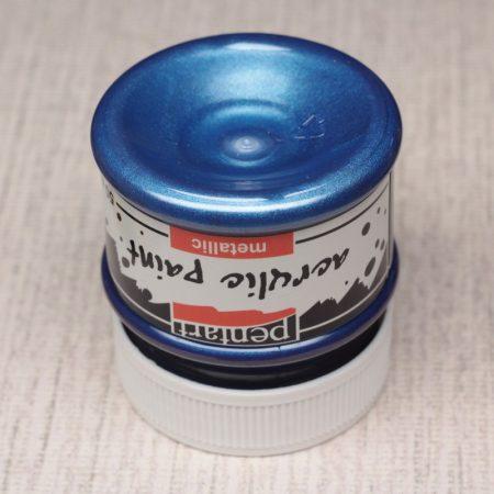 Pentart Metál akrilfesték 50ml kék