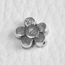 Tibeti stílusú fém köztes - antik ezüst színű 10mm-es virág