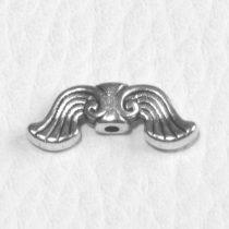 Tibeti stílusú fém angyalszárny - antik ezüst színű 19x7mm-es