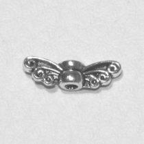 Tibeti stílusú fém mini tündérszárny / angyalszárny - antik ezüst színű 14x4mm-es