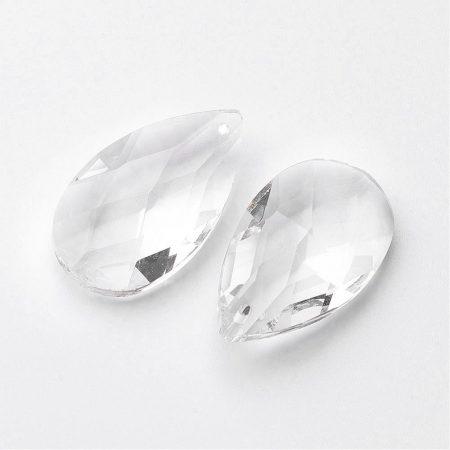 Szivárványkristály (feng shui kristály) - 4x2cm-es csepp
