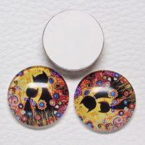 Mintás üveglencse / kaboson (424) - 16mm-es