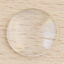 Üveglencse / kaboson - kerek, 16mm-es