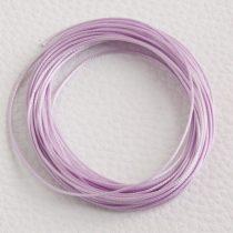 Viaszolt műszálas zsinór kb. 0,7mm vastagságú - k05 világos violalila - 5m