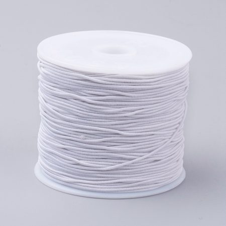 Kalapgumi 1mm vastagságú - fehér - kb. 20m