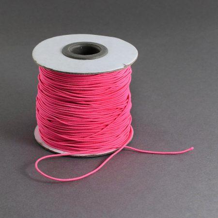 Kalapgumi 1mm vastagságú - pink /m