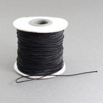 Kalapgumi 1mm vastagságú - fekete /m