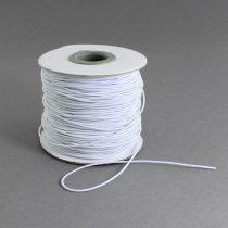 Kalapgumi 1mm vastagságú - fehér /m