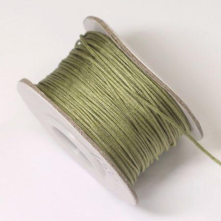 Nylon shamballa zsinór 0,8mm vastagságú - m150 - kb. 40m