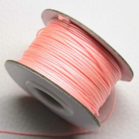 Nylon shamballa zsinór 0,8mm vastagságú - m153 - kb. 40m